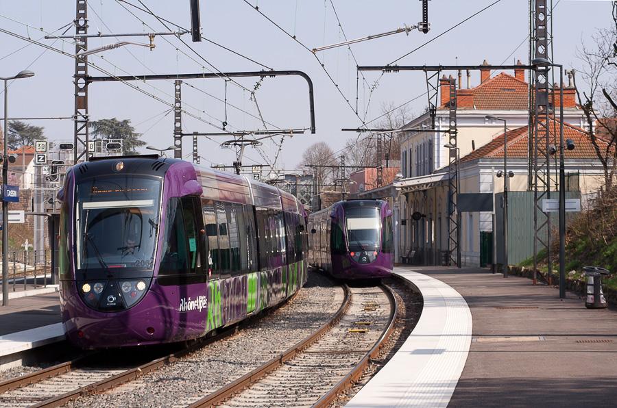 Ouest Lyonnais : le tram-train arrivera le 24 septembre