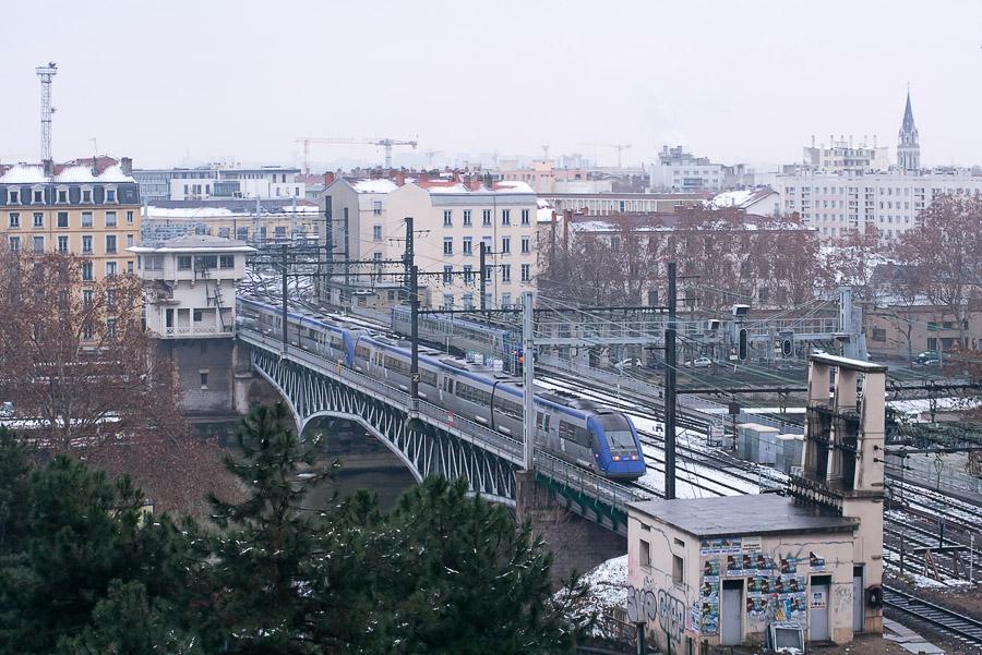 Le froid perturbe le trafic SNCF en région lyonnaise