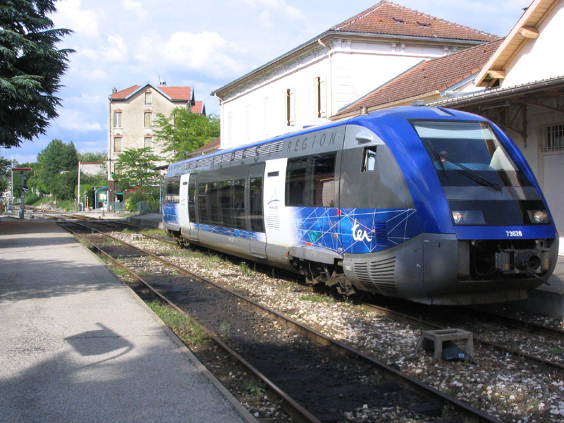 La ligne Oyonnax-St Claude menacée de fermeture