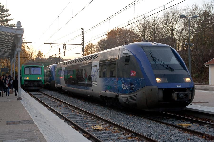 Ouest Lyonnais : les X 73500 entrent en piste