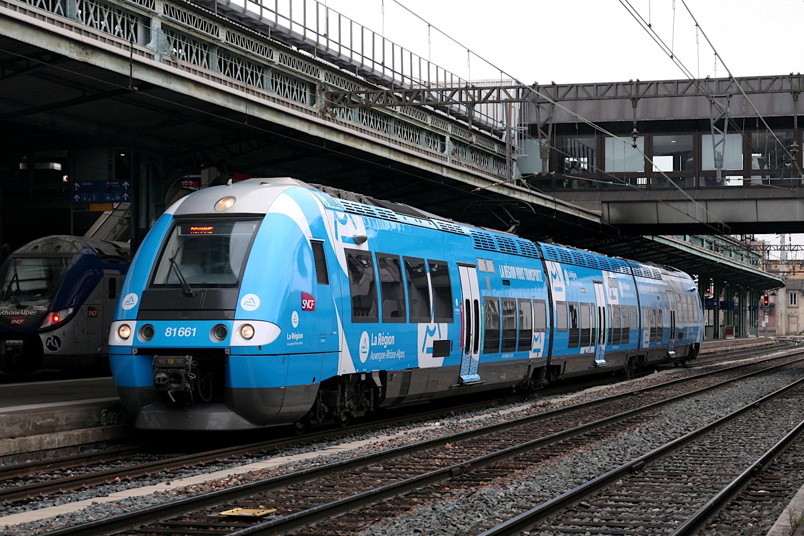 Les AGC Rhône-Alpes revêtent eux aussi la nouvelle livrée AURA