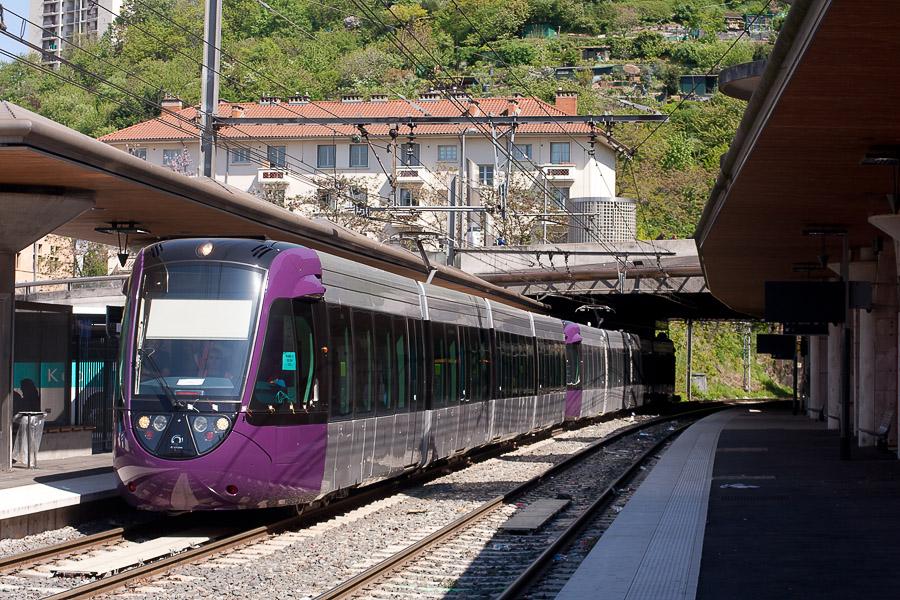 Tram-train : début des essais !