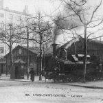 La gare de Lyon Croix-Rousse