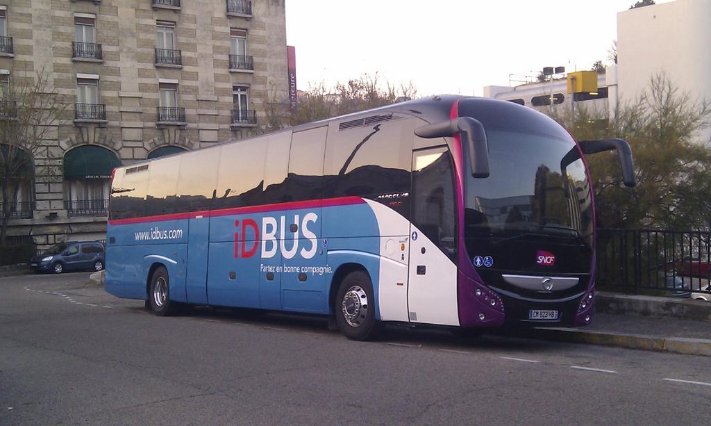 Après Londres et l'Italie, IDBus relie Lyon à Paris