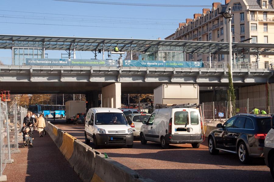 La gare Jean Macé sort de terre